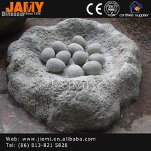 Original size Artificial Dinosaur fossil Egg for Sale