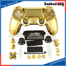 New Arrival Chrome Gold Silver Red Blue Controller Shell Housing Cover For Sony <strong>Playstation</strong> 4 dualshock 4 PS4 Controller Shell