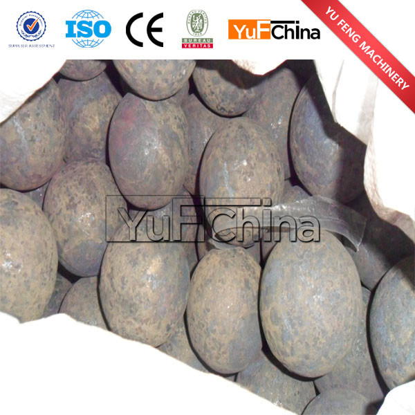 China forged steel ball--grinding ball mill 20mm to 150mm