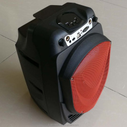 Wireless portable loud bass speaker mobile phone 6.5 inch speaker with fm radio