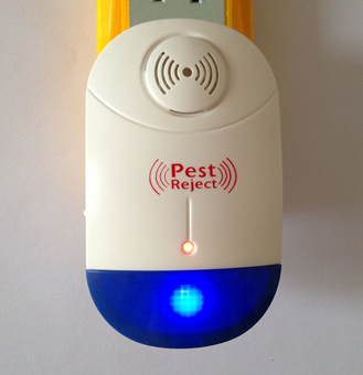 Innovation Ultrasonic Pest Repeller Control-Electronic Plug In-Repelling for, Flies, Ants, Mice
