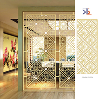 chinese supplier 304 home room partition panels for decorative