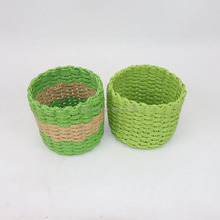 Best price handmade paper rope basket