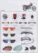 GN125 motorcycle parts/Japan motorcycle spare parts/South America motorcycle parts