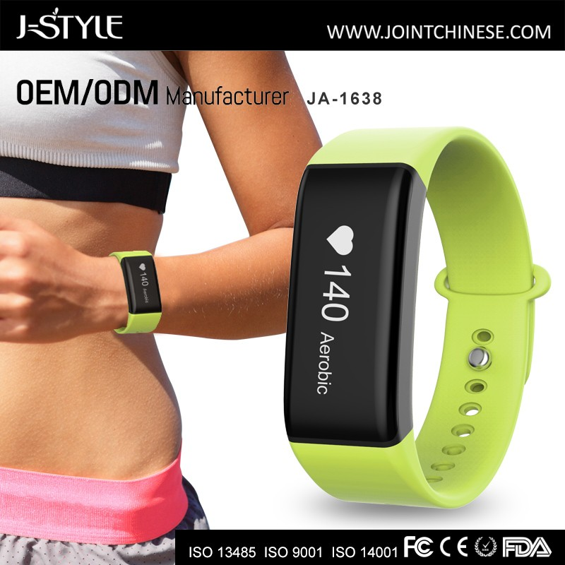J-style Promotion product waterproof running tracker wrist watch