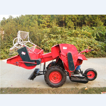 Diesel engine Wheat Harvester convenient operate combine harvester