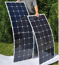 High Efficiency Flexible Solar Panel 50W 80W 100W With Sunpower Cells