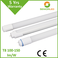 new product high brightness 9W to 22W led tube , t8 tube light with 3 years warranty