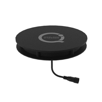 Embedded furniture QI wireless charger, mini table charger wireless