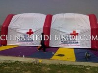 inflatable tents for hospitals, military army, events