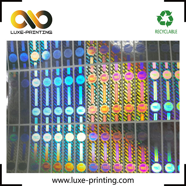 2017 Custom Printing Genuine Guaranteed and Original Tamper Proof sticker Security Stickers labels