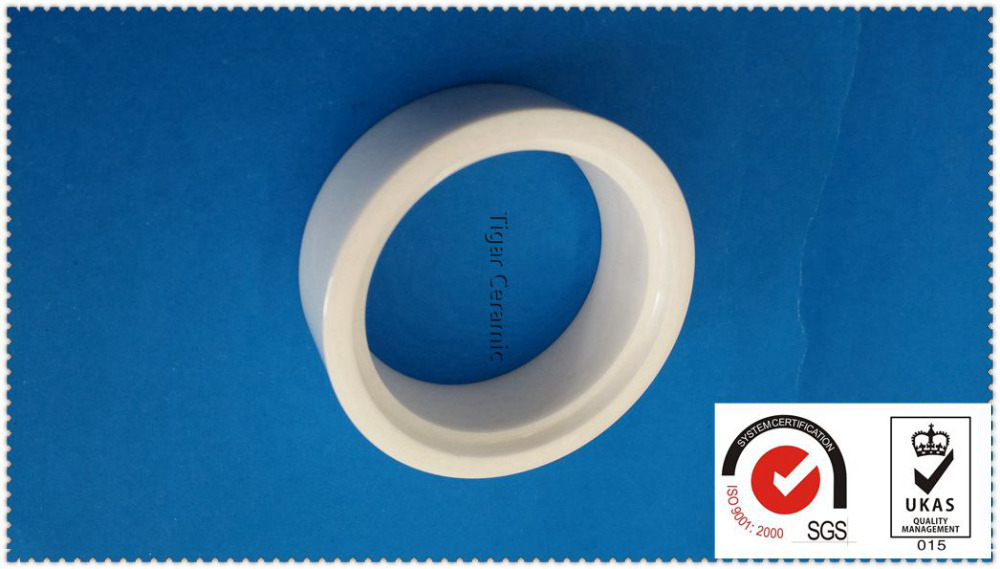 High quality custom cordierite ceramic screw tube bushing with high strength and good wear resistance