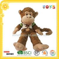 Custom Puppets Toy Plush Hanging Monkey ICTI Factory