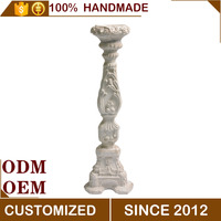 Magnesium Oxide Decorative Tall Antique Candle Holder