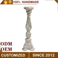 Magnesium Oxide Decorative Tall Antique Candle