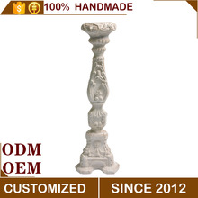 Magnesium Oksida Dekoratif Tinggi Antique Candle Stick Holder