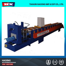 High quality hydraulic metal roofing ridge cap tile press machine