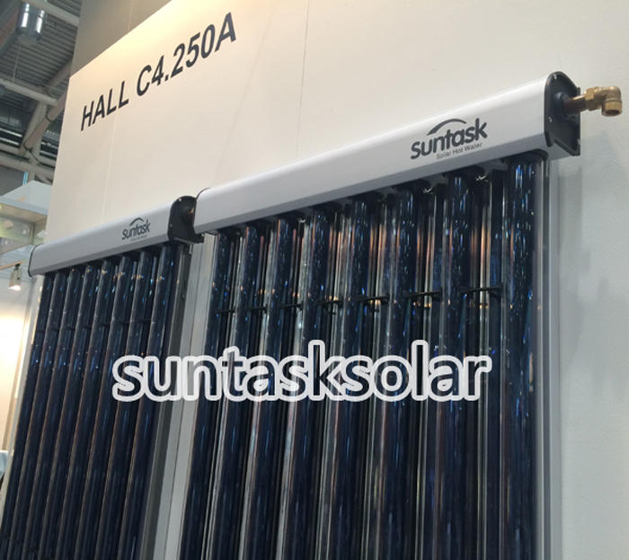 Suntask New Style CPC Heat Pipe Solar Collector Solar Hot Water Heater (SHC)