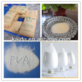 Granules/Powder/Flocculent Polyvinyl Alcohol PVA for Adhesive
