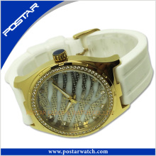 Fashion Women's Ladies Watches Crystal Stainless Steel Analog Quartz Wrist Watch Online Shopping