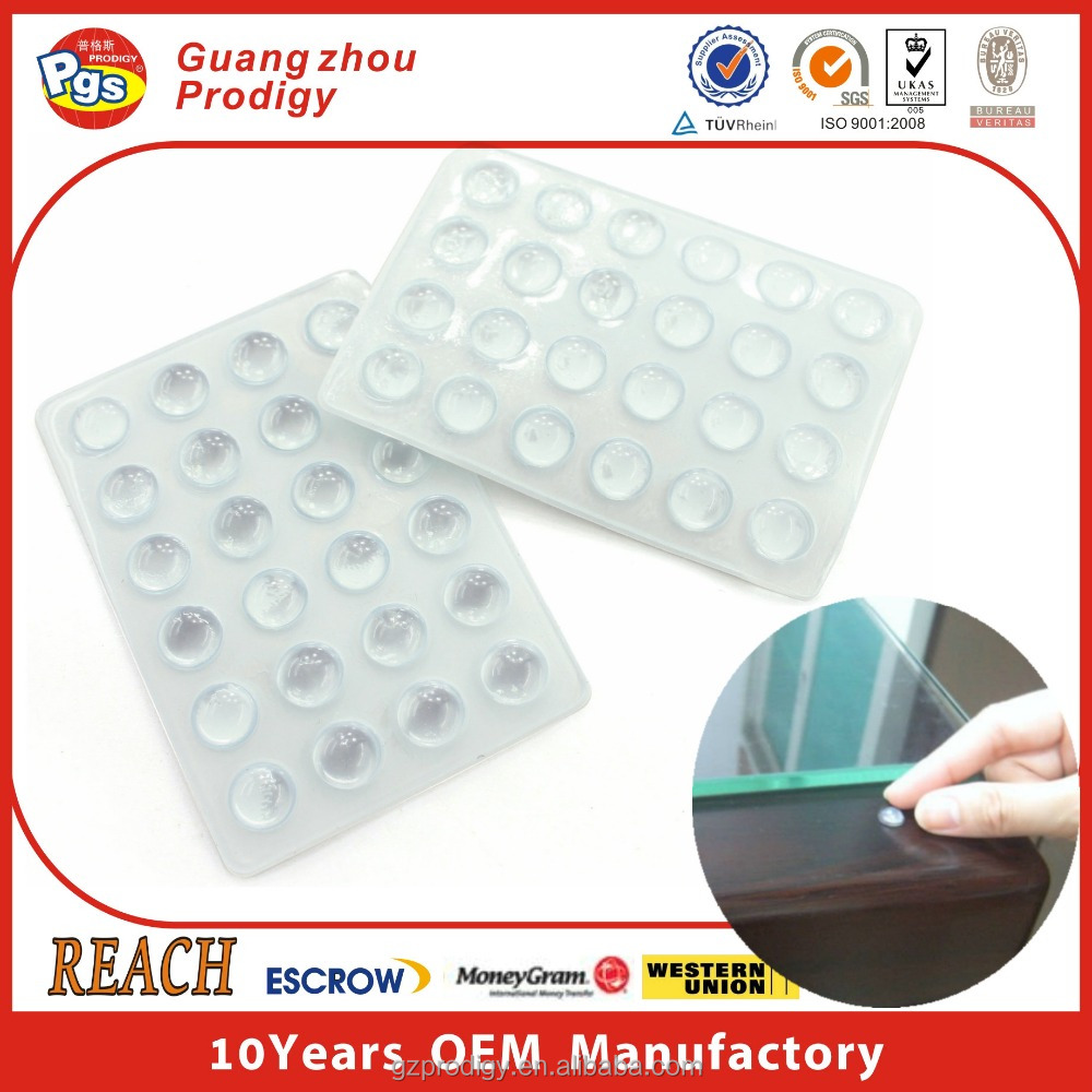 glass anti slip pad glass protector