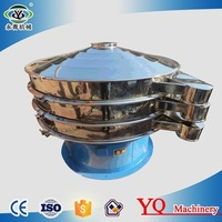 Factory direct sale high capacity sodium cyanide vibrating sieve