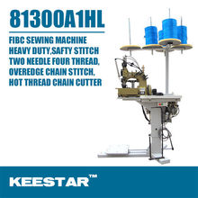 Keestar 81300A1HL Double Needle Four Thread Mechanical Container Bag Sewing Machine