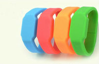 Silicone Promotion led usb watch,2013 new arrival and most fashion usb led watch