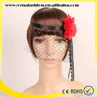 party wide lace flower adults headbands for girls
