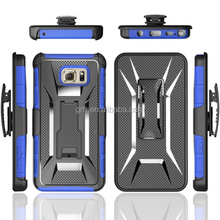shock proof hard belt clip holster case cover #6 for Samsung Galaxy Note 5
