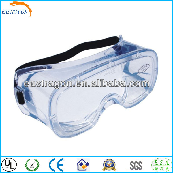 Anti UV Blue Speedy Swim Goggles en166f Round with Valve CE