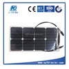 Mini 25w flexible solar panel with efficiency cells