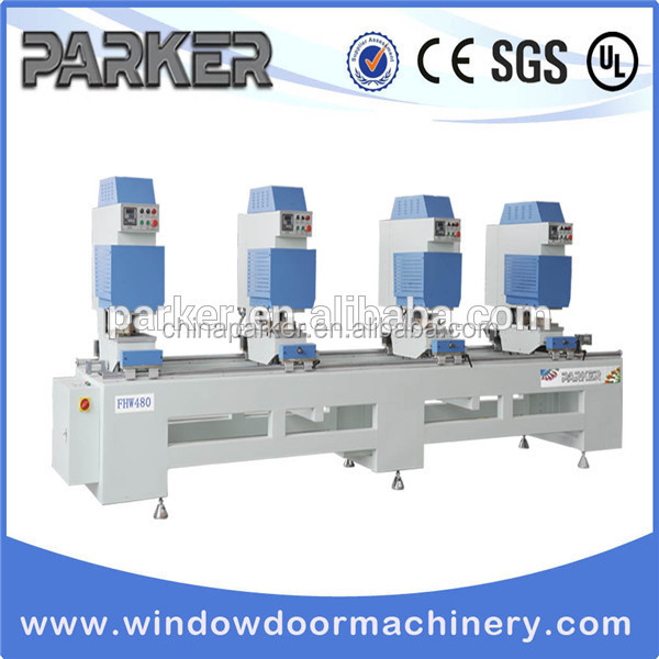 Four Head Upvc window welding machine/ PVC window fabrication line