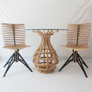 new style modern dining table and chair sets