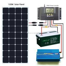 low price for USA solar market 120w flexible solar panel made in China