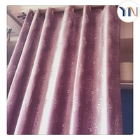 100% polyester Italy velvet curtain fabric for living room curtain, soft and good hand touch, Hangzhou textile fabric supplier