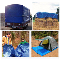 PE Coated Tarpaulin Waterproof Material Truck Cover