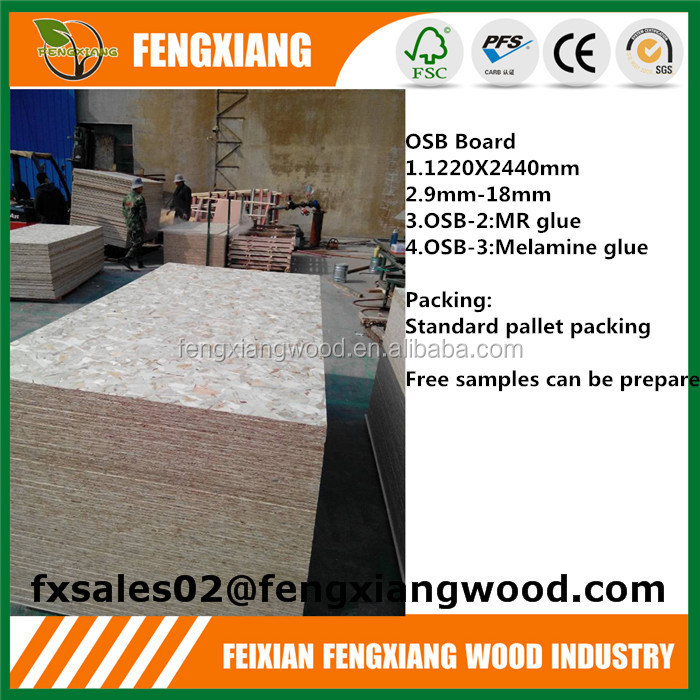 Chipboard OSB (Oriented strand board) texture
