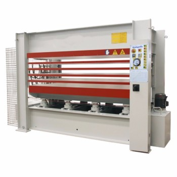 Shandong multi-layer wood machine hot press for doors automatic laminating line