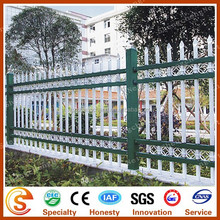Water proof wrought iron fence Ornamental prefab fence panels