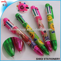 Japanse cartoon plastic muticolor kids drawing pen