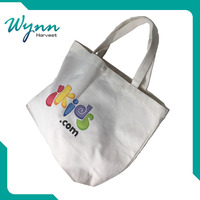 recyclable small canvas trolley bag