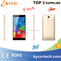 Mobile phone wholesale suppliers Cheap 6 inch smart mobile in Shenzhen Byco