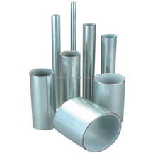 ST37 1mm hot dip galvanized steel pipe