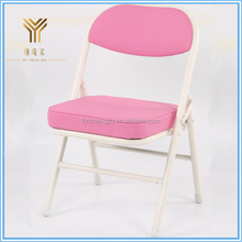 Lovely Kids Folding Chairs Plastic Outdoor Furniture Children Metal Folding Chair