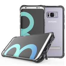 2017 TPU Acrylic Case For Samsung Galaxy S8 Case Transparent Cover