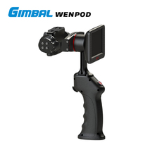 2017 new design HD handheld 4k camera and 2-axis gimbal wenpod