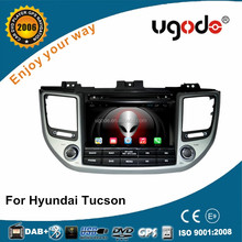 ugode double din car audio dvd gps player for hyundai tucson 2016
