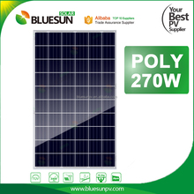 High Efficiency 270w poly solar panel module 270 watt solar panel 60 cell for factory price