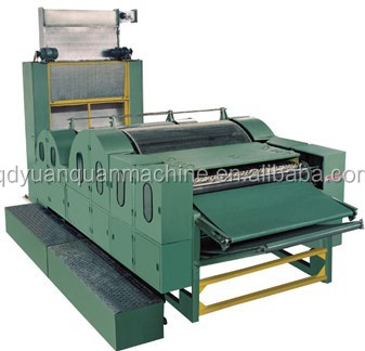 Double cylinder double doffer cotton carding machine /combing machine